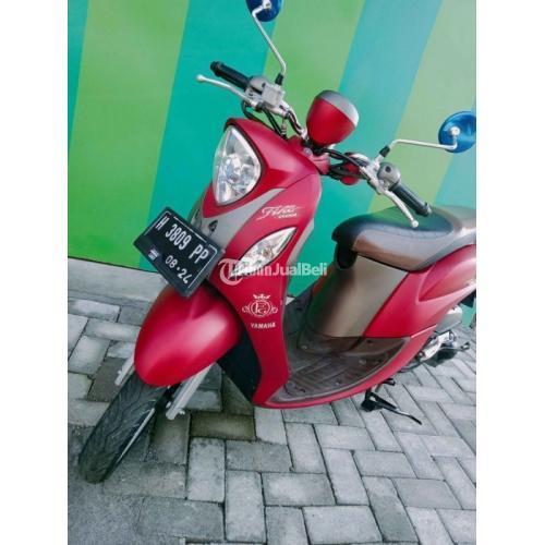 Motor Yamaha Fino Grande ISS 2019 Surat Lengkap Pajak Jalan Bekas - Semarang