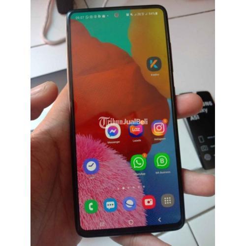 HP Samsung A51 Ram 8GB/128GB Fullset Bekas Mulus Garansi Free Case - Surabaya