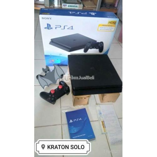 Konsol Sony PS4 Hen 755 Seri 2106 Void Bekas Segel Mulus Fullgame - Solo