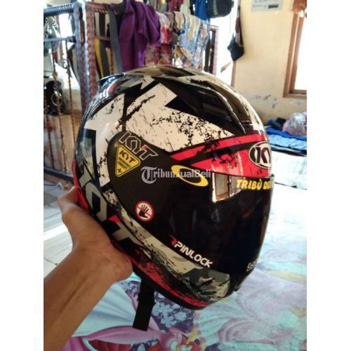 Helm KYT R10 Size M Bekas Mulus Nominus Busa Tebal Harga Nego - Solo