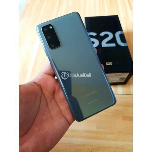 HP Samsung Galaxy S20 8/128GB Bekas Mulus SEIN Lengkap Normal - Semarang