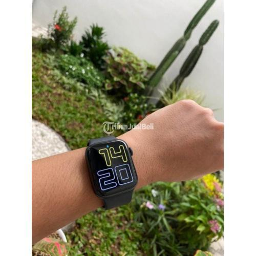 Apple Watch Gen 5 iBox 44mm Bekas Mulus Nominus Like New Fullset Ori - Semarang