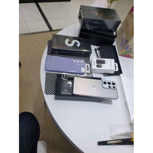 HP Samsung Galaxy S21 Ultra Bekas Like New Bonus Buds+ Bisa Kredit - Malang