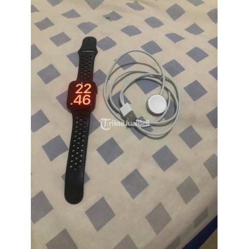 Apple Watch Series 5 44mm Nike Bekas Baik Harga Nego - Jakarta