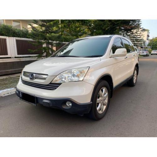 Mobil SUV Honda CRV 2.4 Matic 2009 Bekas Surat Lengkap Terawat - Jakarta