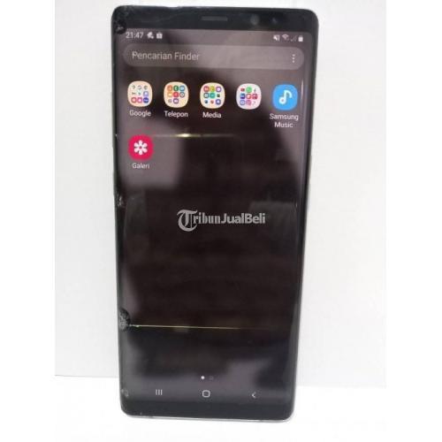 HP Samsung Note 8 Ram 6GB/64GB Fullset Bekas Fungsi Normal Harga Nego - Jakarta Pusat