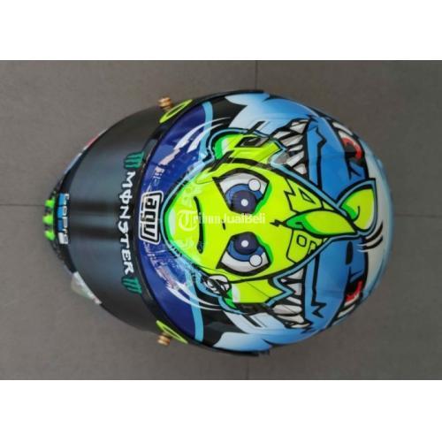Helm Full Face Vendetta 2 Not Agv Repaint Size L Bekas Like New Mulus - Solo