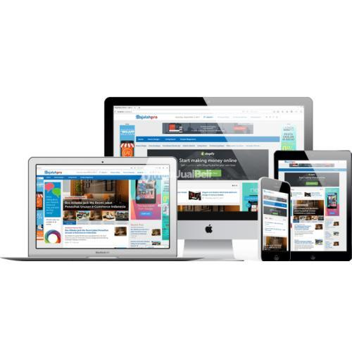 Jasa Pembuatan Web Portal Berita Free Desain Logo Bergaransi - Lombok Timur