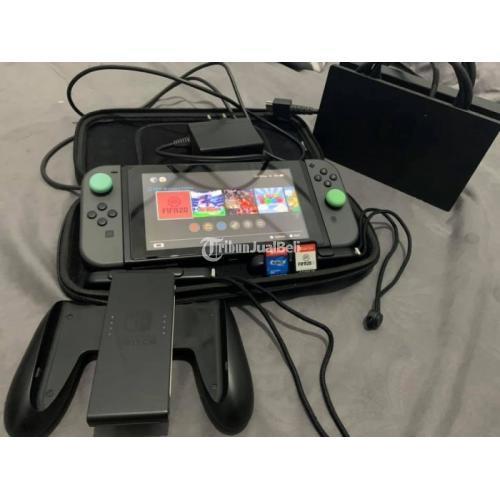 Konsol Game Nintendo Switch V1 Grey Bekas Original Nominus Lengkap - Jakarta