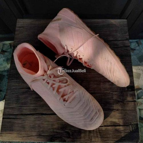 Sepatu Bola Adidas Predator Tango 18.3 IN Pink Second Original - Klaten