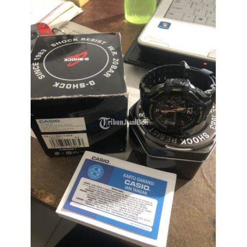 Jam Tangan Gshock GA 1100 1ADR Fullset Bekas Fungsi Normal - Surabaya