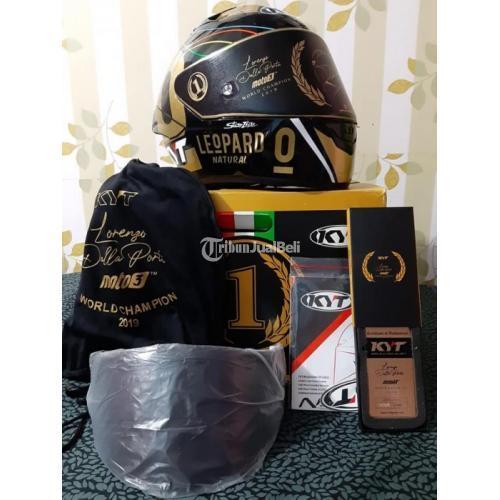 Helm Full Face KYT NZ Race Dalla Porta Ukuran L Visor 2 Bekas Harga Nego - Bandung