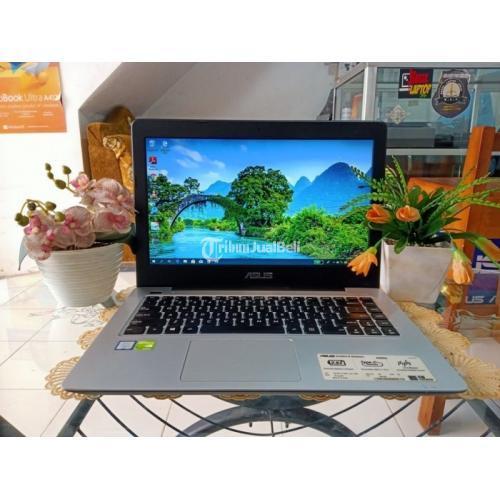 Laptop Asus X456UR Ram 4GB Hardisk 500GB Baterai Awet Bekas Normal - Yogyakarta