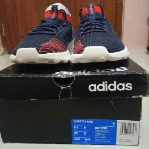 Sepatu Sneakers Adidas Questar Rise Size 42 Baru Harga Murah - Surabaya