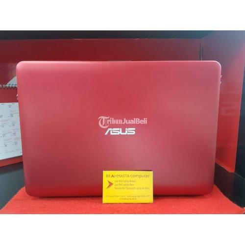Laptop Asus X441UV Red Ram 4Gb Hardisk 500GB Fullset Bekas Normal - Surabaya