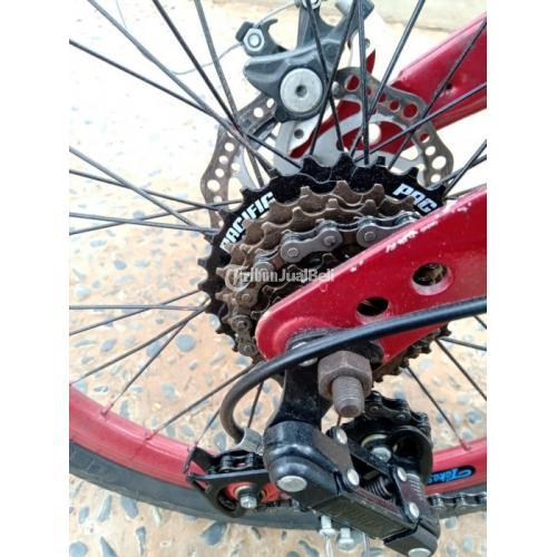 Sepeda Lipat Seli 20inch Sproket ke 7 Speed Pacific Bekas Terawat - Jakarta Barat