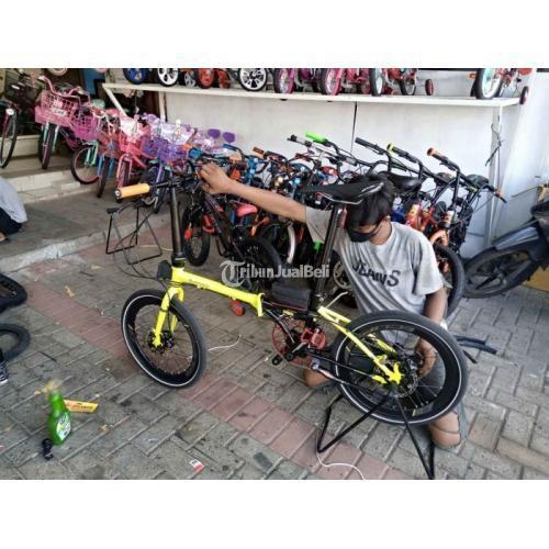 Sepeda Lipat Element Nicks 1x10sp Tiagra Bekas Like New Normal Mulus - Jakarta
