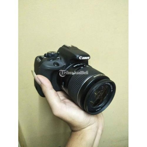 Kamera DSLR Canon 100D Bekas Fullset Mulus Normal Harga Nego - Jakarta