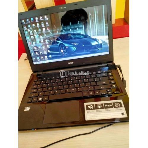 Laptop Acer Aspire E 14 HardDisk 500GB Bekas Fungsi Normal Harga Diskon Tasikmalaya