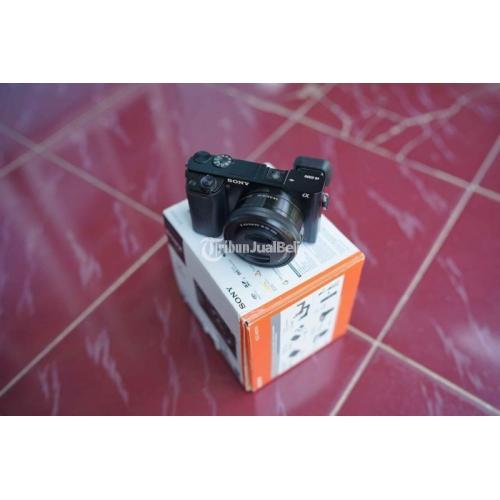 Kamera Sony A6000 Lensa Kit 16-50mm Fullset Bekas Bebas Jamur - Banyumas