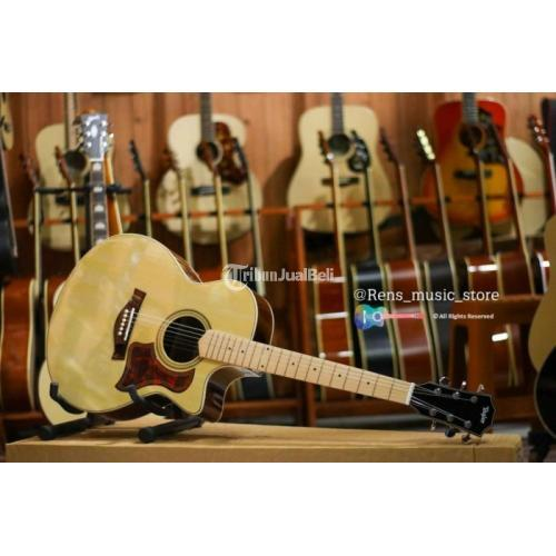 Gitar Costum Akustik Boy Top Siprus Baru Rangka Vinus Harga Terjangkau - Balikpapan