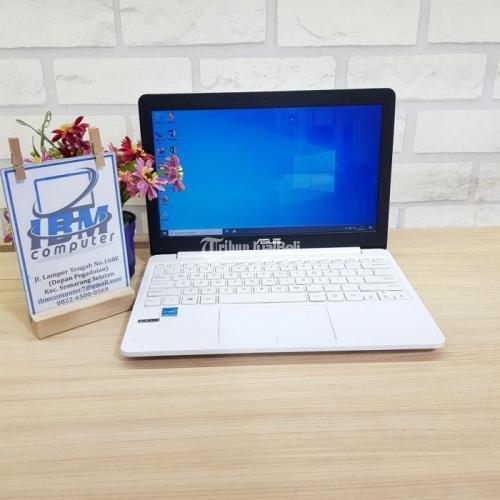 Notebook Asus E203NAH White Bekas Fullset Fungsi Normal Garansi - Semarang