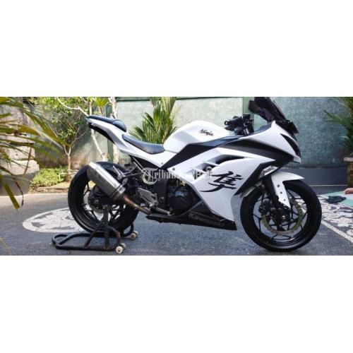 Motor Kawasaki Ninja 2012 Pajak Hidup Bekas Mulus Harga Nego - Tabanan