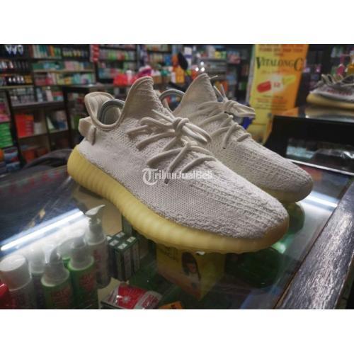 Sepatu Adidas Yezzy v2 350 Cream White Size 43 Second Mulus - Batam