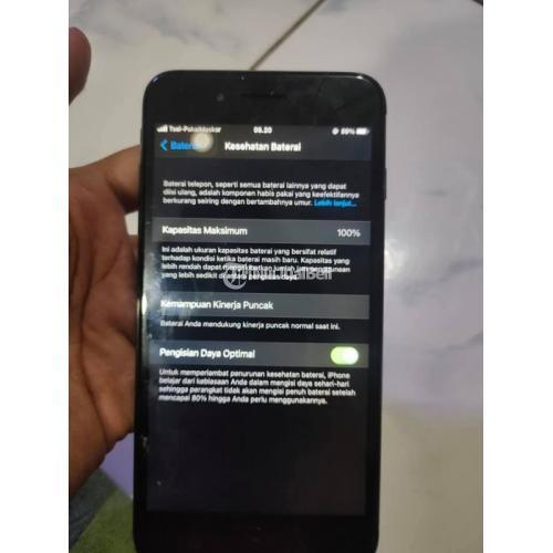 HP Iphone 7 Plus 128GB Black Jet Fullset Bekas Harga Nego - Jakarta Selatan