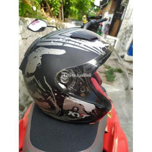 Helm KYT Half face Dhmaru Size XL Bekas Minus Pemakaian Harga Nego - Jakarta Utara