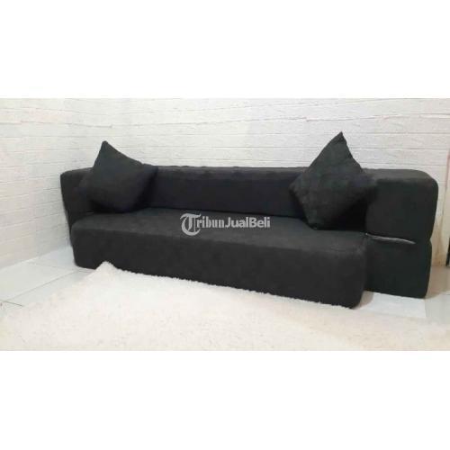 Sofa Bed In The Box Grey Ukuran 100x200 Include 2 Bantal Bekas - Jakarta Selatan