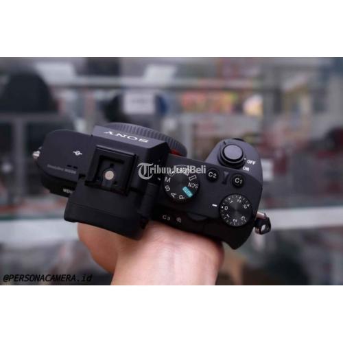 Kamera Sony A7 Mark II Body Only Bekas Fullset Bebas Jamur Garansi - Bogor