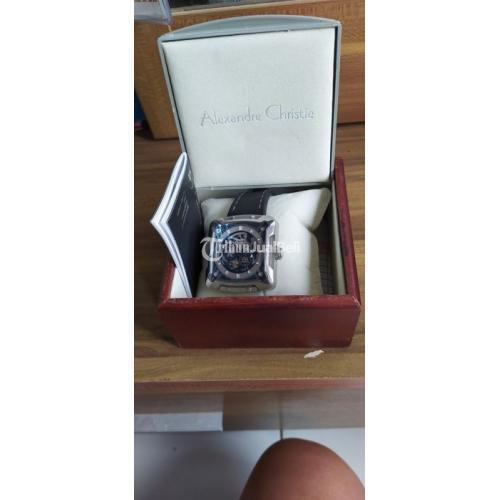Jam Tangan Alexandre Christie AC3030MA BLSVBL Limited Edition Bekas - Bandung