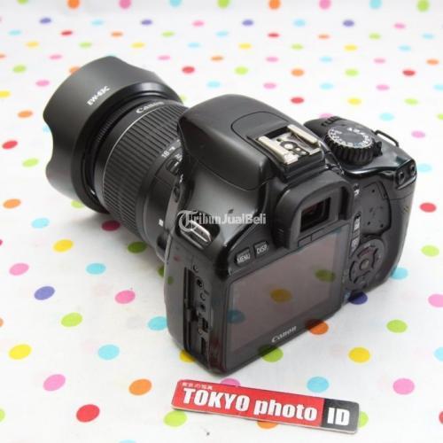Kamera Canon 550D Lensa Kit Bekas Fullset Bebas Jamur Garansi - Bandung