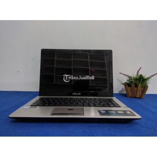 Laptop Asus A43SM RAM 4 GB HDD 500 GB Bekas Kondisi Normal - Solo