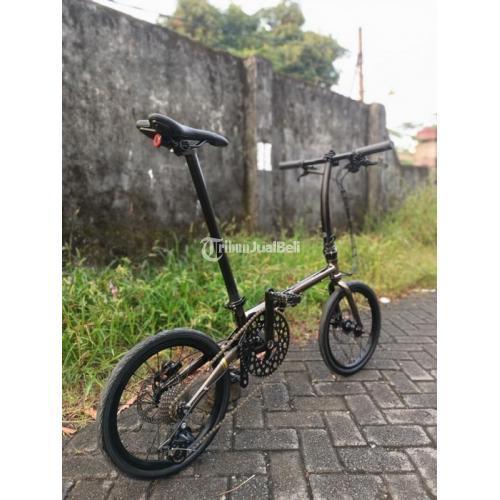 Sepeda Lipat Troy Cromoly Full Upgrade Speed 10 Bekas Harga Nego - Makassar