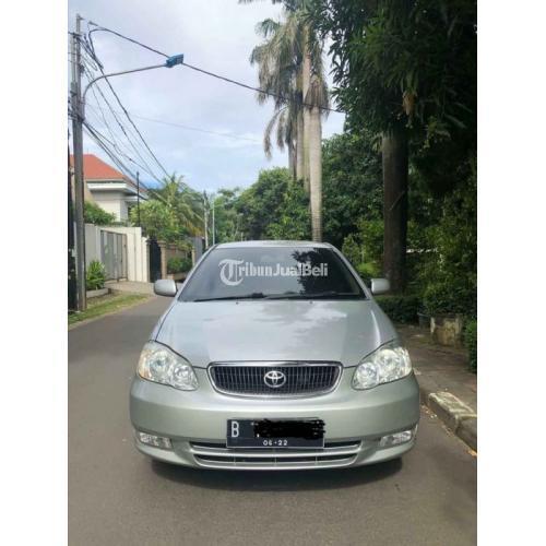 Mobil Toyota Corolla Altis Matic 2002 Bekas Fungsi Normal Terawat Mulus - Jakarta Timur