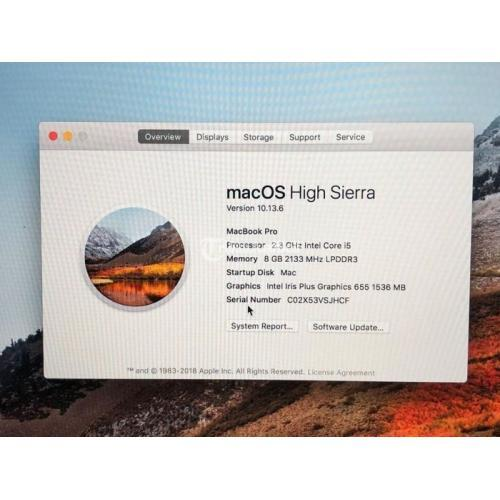 Laptop Apple Macbook Pro 2018 Touchbar Like New Original Mulus Normal - Jogja