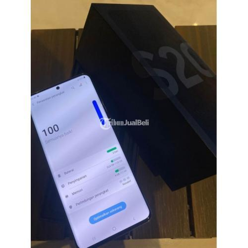 HP Samsung S20 Ultra Cosmic Grey Like New Bekas SEIN No Kendala - Semarang