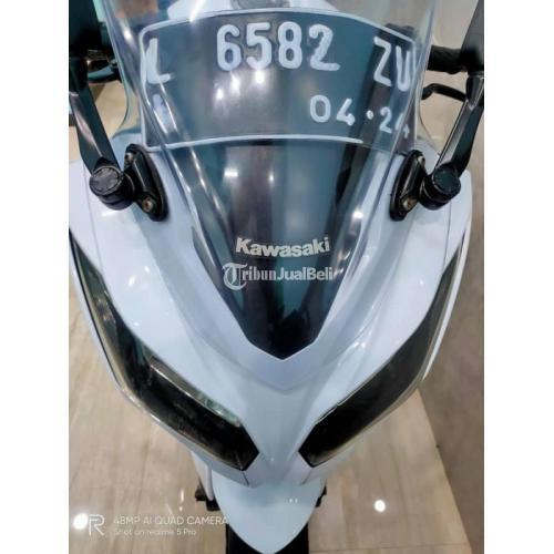 Motor Kawasaki Ninja Fi 2014 Bekas Mulus Nominus Surat Lengkap Pajak Baru - Surabaya