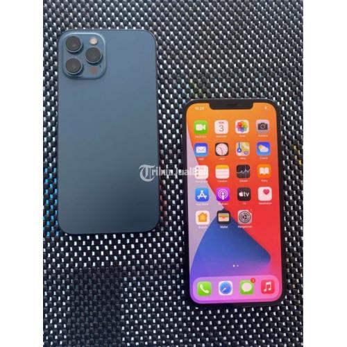 HP Apple iPhone 12 Pro Max 128GB Bekas All Operator Bebas Reset - Denpasar