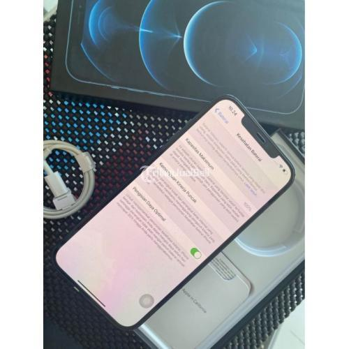 HP Apple iPhone 12 Pro Max 128GB Bekas All Operator Bebas Reset - Denpasar