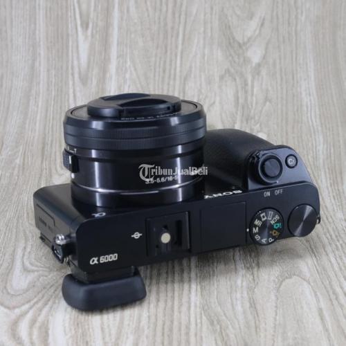 Kamera SONY A6000 Lensa 16-50mm Fullset Box Second Bebas Jamur - Yogayakrta
