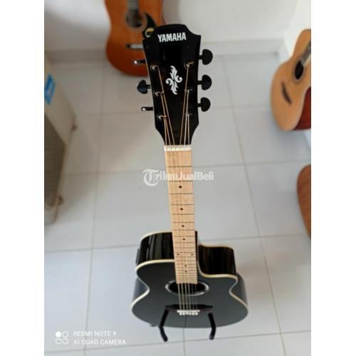 Gitar Akustik Baru Body Mulus Tanem Besi Aktif Bonus Tas Pik Bergaransi - Denpasar