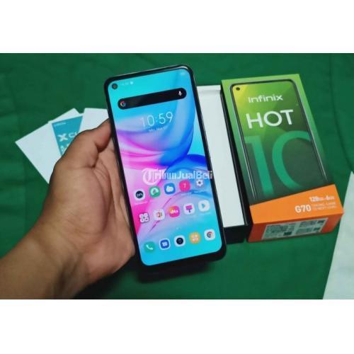 HP Infinix Hot 10 Ram 6GB/128GB Fullset Bekas Baterai 52000mAh - Surabaya