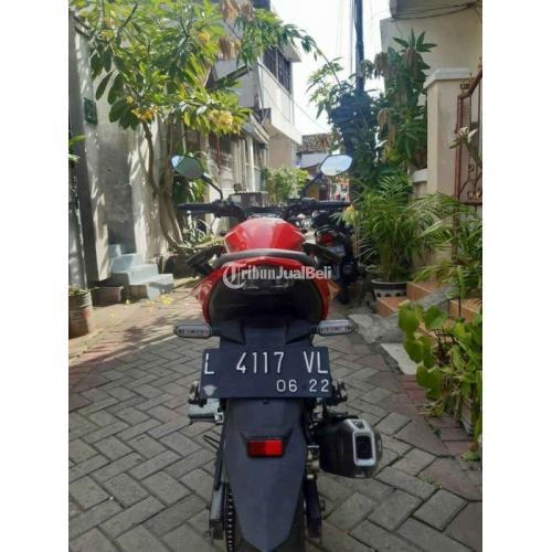Motor Honda CB 150R 2017 Km Rendah Kondisi Bekas Ban Tebal - Surabaya