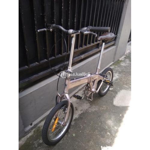 Sepeda Lipat United Escape Uk 16 Bekas Minus Pemakaian Harga Nego - Depok