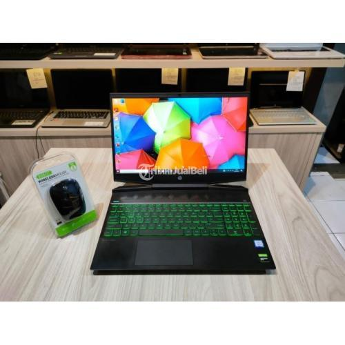 Laptop HP PAVILION 15-dk0042TX Ram 8GB Hardisk 1 TB Bekas Garansi - Semarang