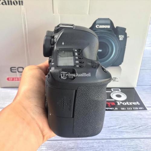 Kamera Canon 6D Wifi GPS Fullset Box Bekas Fungsi Normal Bebas Jamur - Solo