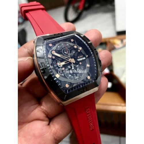 Jam Tangan Swiss Expedition Sport E6800 Baru Strap Silicon Garansi - Banyumas